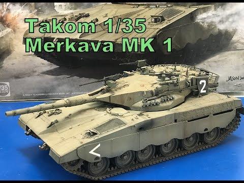 Building The Takom 1/35 Merkava MK1 Complete Step By Step Build