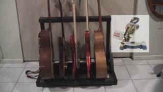 Build MultiStand for your Guitars and Basses
