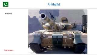 M-84AS compared with Al-Khalid, Main Battle Tank specifications  comparison