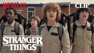 Ghostbuster Scene | Stranger Things 2 | Netflix