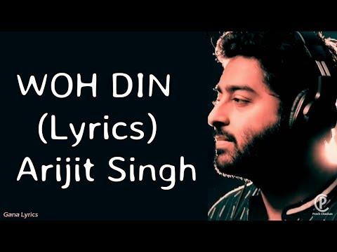 Download Lagu  Woh Din s - Arijit Singh - CHHICHHORE Mp3 Free