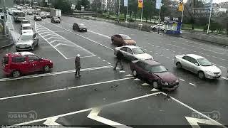 ДТП на Ростовском Шоссе и ул. Зиповская 16.01.2019
