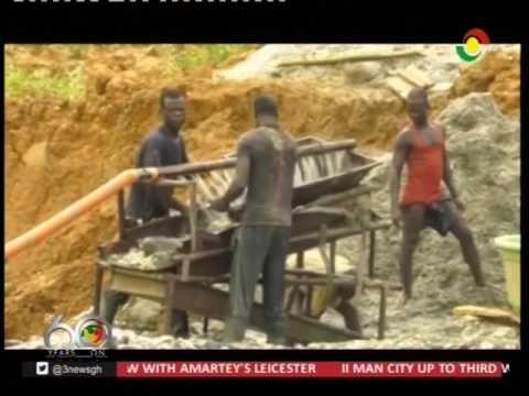 Minister inspects Ghana diamond market - 15/4/2017