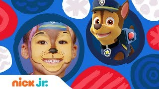 DIY Halloween Face Painting w/ PAW Patrol 🖌️ 🎃Stay Home #WithMe | Arts + Crafts | Nick Jr.