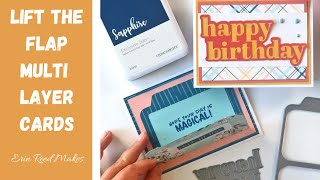 Cardmaking | Lift the Flap Multilayer Card