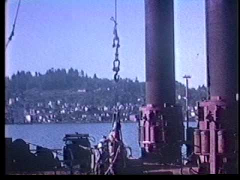 Astoria-Megler Bridge Construction 1962-1964