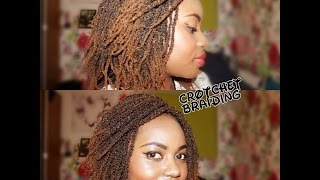 How to-Crotchet Braiding-Using Kinky Pencil