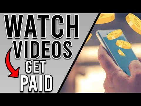 Get Paid To WATCH VIDEOS - $2.00+ PER VIDEO! (EASY Paypal Money)