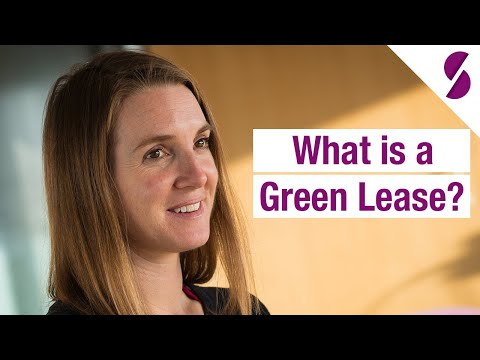 What is a Green Lease?