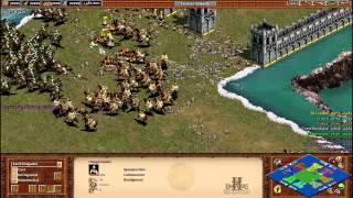 Age of Empires 2 HD: 4vs4 Castle Blood Arena