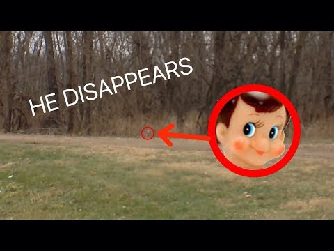 THE ELF ON THE SHELF DISAPPEARS ON CAMERA!? *UNBELIEVABLE*