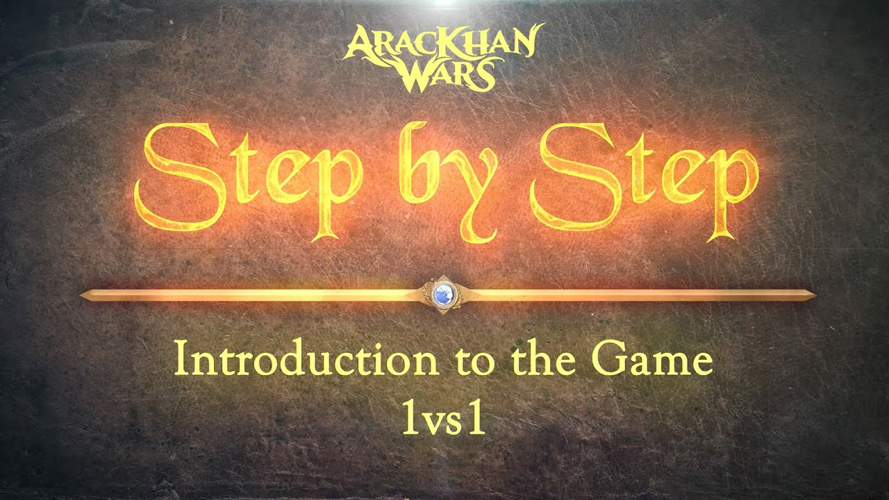 AracKhan Wars competitive battle card game Step by Step Introduction tutorial 1/5