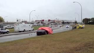 Serious crash at 107 Street investigated