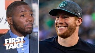 Carson Wentz will play at an MVP level and lead Eagles to NFC title game – Ryan Clark   First Take