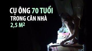 Cụ ông 70 tuổi trong căn nhà 2,5 mét vuông ở phố cổ Hà Nội