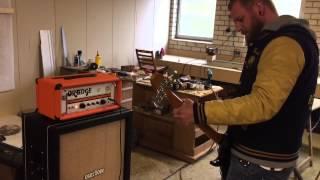 Overdose Custom Cabs 4x12 Bass Cabinet