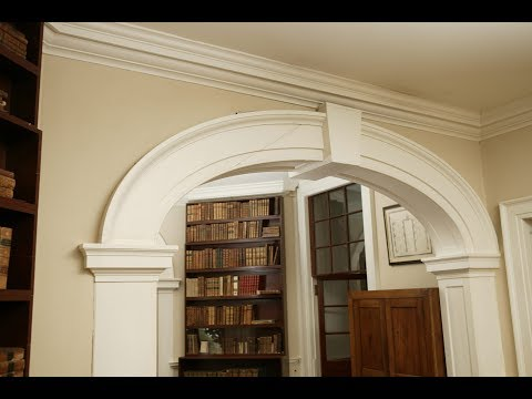 The Elliptical Arch in Monticello's Library