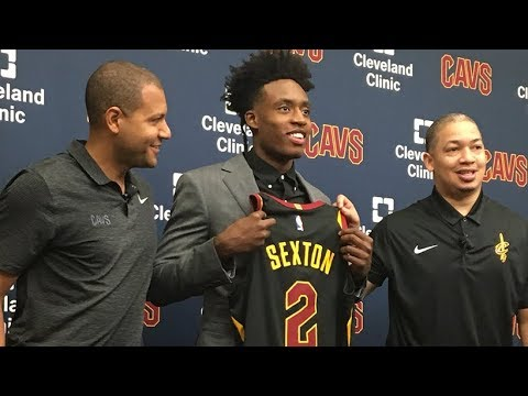 the best attitude bee29 4d040 Collin Sexton to wear Kyrie Irving's No. 2 with Cleveland Cavaliers