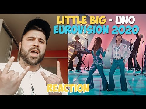 REACTION to Little Big - Uno (RUSSIA, EUROVISION 2020) / РЕАКЦИЯ