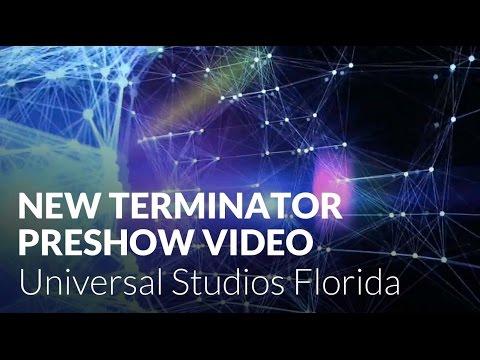 New Terminator 2:3D Preshow at Universal Studios Florida