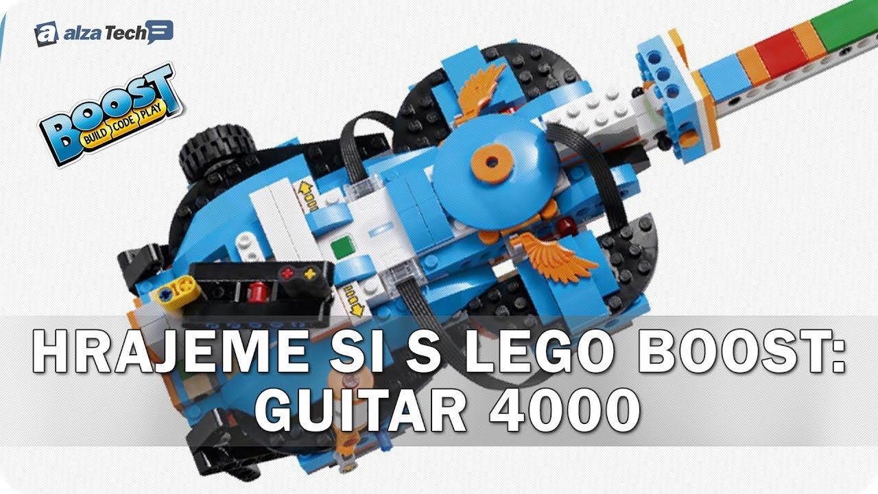 Hrajeme Si Lego Boost 5 Guitar 4000 Alzatech 701 Youtube