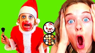 SANTA IN TROUBLE Pretend Play w/ The Norris Nuts