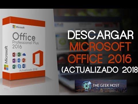 DESCARGAR OFFICE 2016 ► 1 Enlace [MEDIAFIRE…