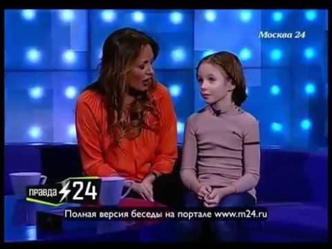 Дочь помогает петь Началовой