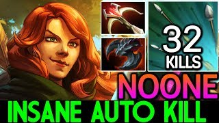 NOONE [Windranger] Insane Auto Kill | Crazy 32 Kills 7.15 Dota 2