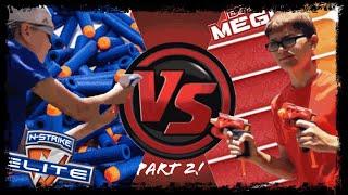 Nerf War ~ Elite vs. Mega | SE. 2 EP. 1