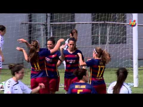 [HIGHLIGHTS] FEMENÍ (Primera Divisió): FC Barcelona - Fundació Albacete (2-0)