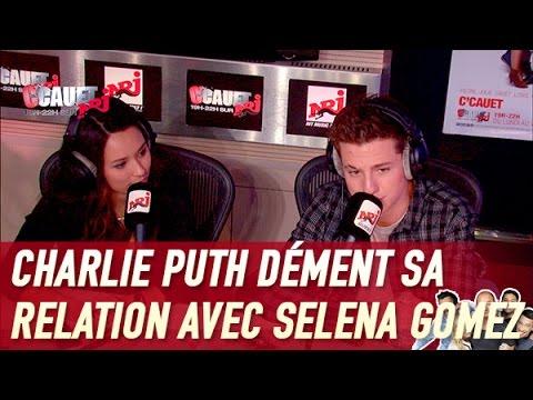 Charlie Puth dément sa relation avec...