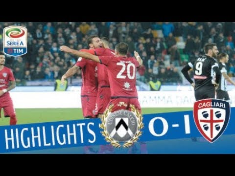 Udinese - Cagliari 0-1 - Highlights - Giornata 13 - Serie A TIM 2017/18
