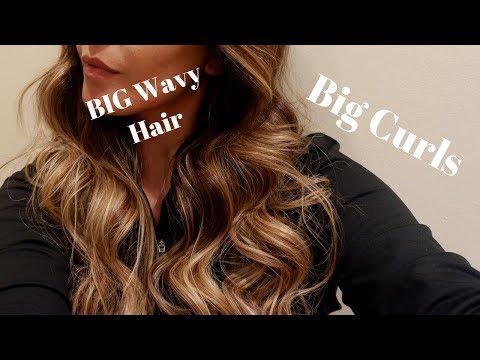 Big Wavy Hair Tutorial // Dubai // Vlog
