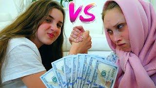 НЕ ПОДЕЛИЛИ 1000 Долларов на ШОППИНГ!! Диана VS Капа