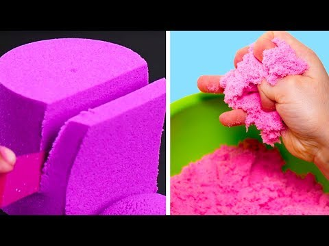 Satisfying Kinetic Sand DIY & Clever Painting Hacks | Crafts and Life Hacks by Blossom