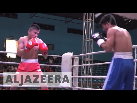 Nepal boxers fight for international stardom