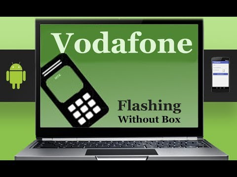 How To Flashing Vodafone Firmware (Stock ROM) Using Smartphone Flash Tool