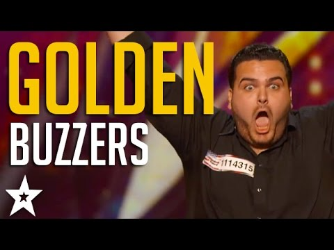 All GOLDEN BUZZERS on America's Got Talent 2016 | Including