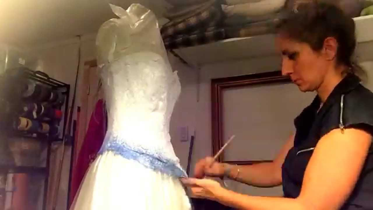 Corpse Bride Wedding Gown: Making The Corpse Bride Wedding Dress 2