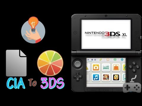 how to add cia files to your homebrew 3ds