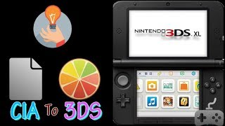 How To Convert A  CIA To A Playable 3DS File I วิธีถอดรหัสไฟล์ [ 3DS GAME ]