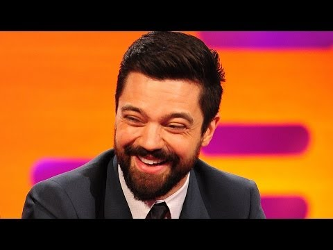 Dominic Cooper Exposes Himself Full Frontal at Cafe  The Graham Norton  on BBC AMERICA
