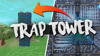 TOWER OF DEATH w/ NEW BOUNCER TRAP! Full Gameplay (Fortnite Battle Royale)