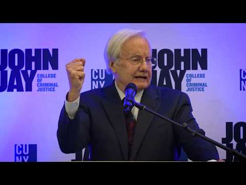 Bill Moyers Full  Speech at Justice Trailblazer Award Dinner 2018