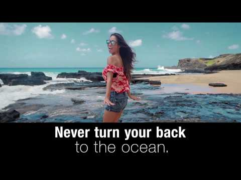 an-ocean-safety-tip-from-the-hawaii-department-of-health-and-hta:-never-turn-your-back
