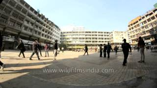Time lapse of the busiest place in New Delhi