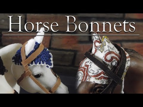How To Make Breyer Horse Bonnets Two Ways