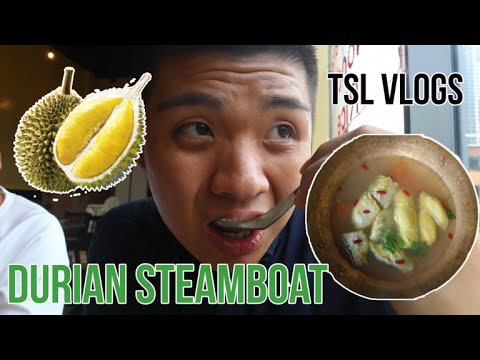 DURIAN STEAMBOAT IN SINGAPORE?! | TSL Vlogs