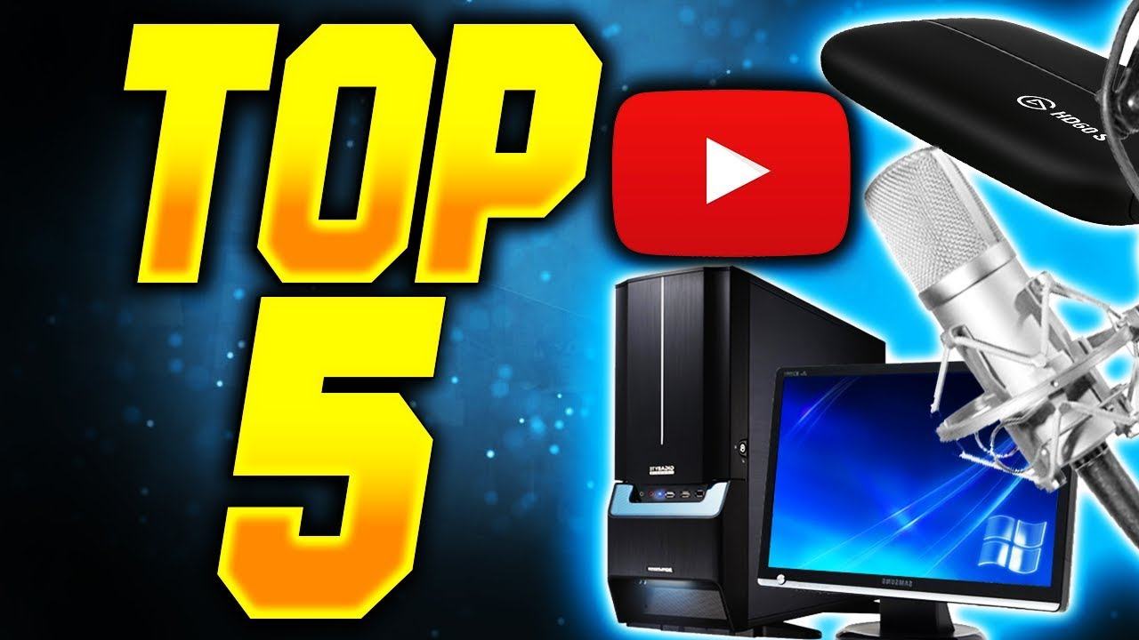 TOP 5 THINGS YOU NEED TO START A GAMING CHANNEL!